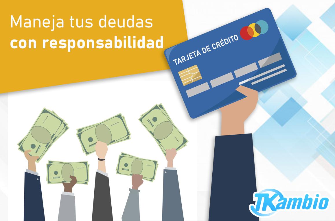 Deudas, tarjeta de crédito, dinero, manejo de dinero y crédito